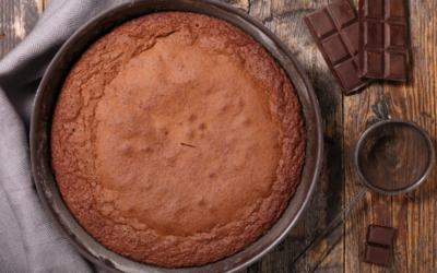 Gâteau au chocolat et amandes sans gluten